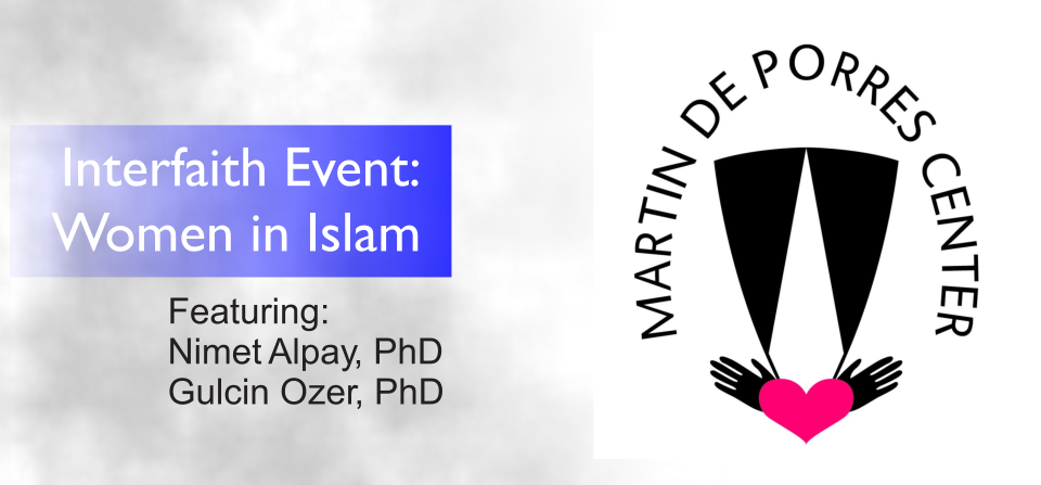 TASO Presents: Women in Islam at Martin De Porres Center