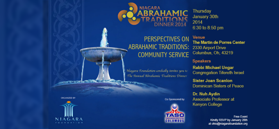 Abrahamic Dinner 2014