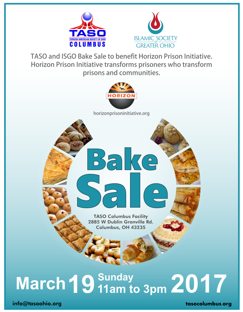 TASO Bake Sale Horizon Flyer